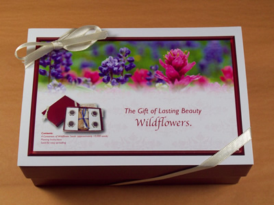 The Gift of Lasting Beauty: Wildflowers Seed Collection Gift Box